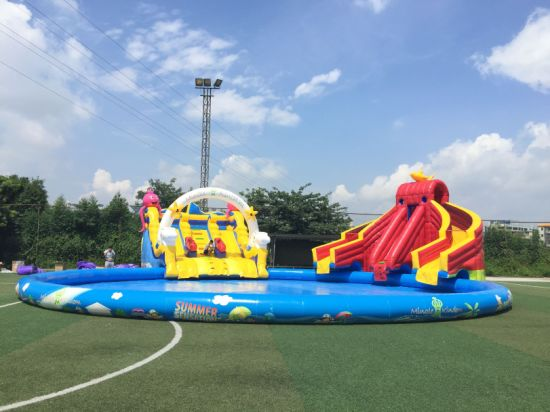 Hot Sell Inflatable Catoon Water Park New Design pictures & photos