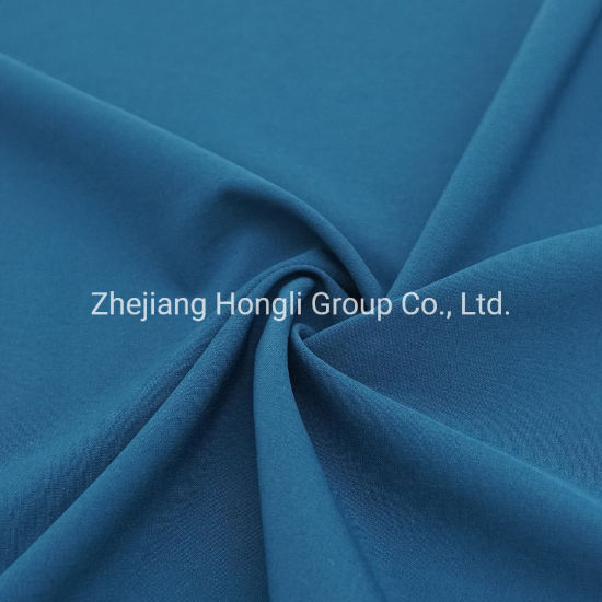 96%Polyester 4%Spandex 4 Way Stretch Plain Weave Fabric