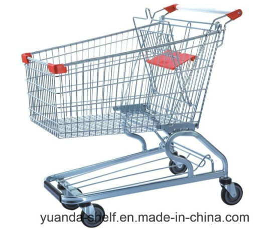 Supermarket Shopping Trolley American Style 150L