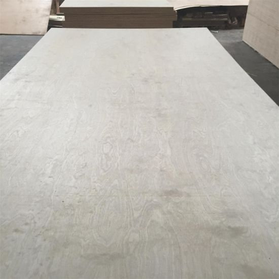 C/D Grade White Birch Face Poplar Core Plywood pictures & photos