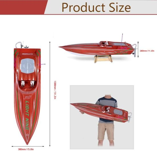 225bl070bp-1300bp Lightning Fs-Gt2 2.4G Transmitter High Speed 60km-H Electric RC Racing Boat pictures & photos