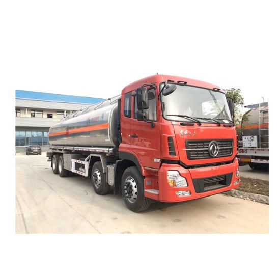 Heavy Duty 12 Wheels Dongfeng Fuel Oil Transport Tanker Truck