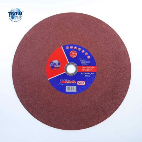 "Factory 14"" 350/355mm Cut-off Flap Abrasive Polishing Cutting Disc for Metal Grinder"