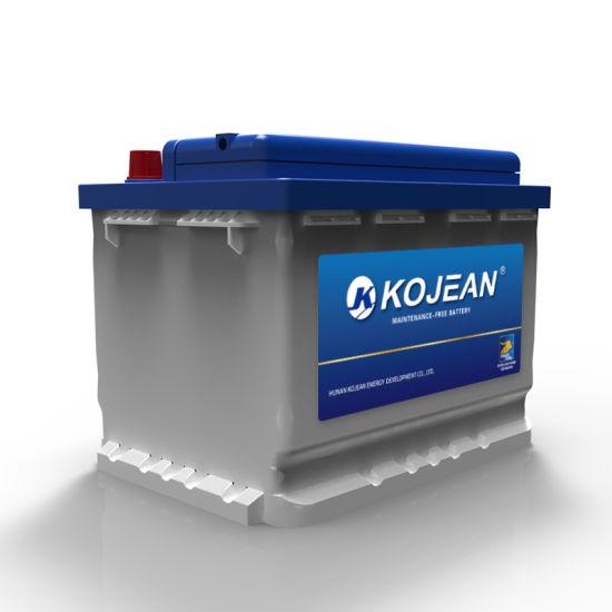 Good Quality 12V 60ah DIN Standard Maintenance Free Lead Acid Car Battery