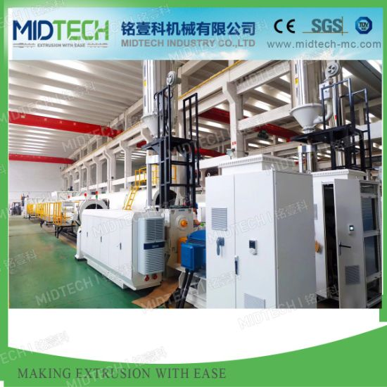 2021 Turn-Key Plastic PVC/UPVC/PE/HDPE/PP/PPR/LDPE Water Hose/Electric Conduit Cable Pipe/Window Profile/Wall Panel Extruder/Extrusion/Extruding Making Machine