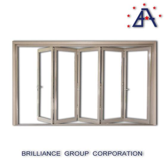 Aluminium Closet Door Aluminum Folding Bifold