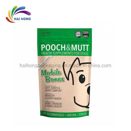 Wholesale Custom China Supplier Customized Logo Heat Seal Dog Cat Pet Food Bag