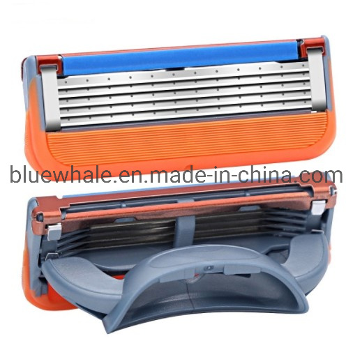 2PCS/Lot Razor Blades for Fusion Power Shaver with Package