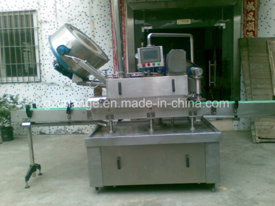Automatic Vacuum Glass Bottle Jar Cappng Twist off Machine pictures & photos