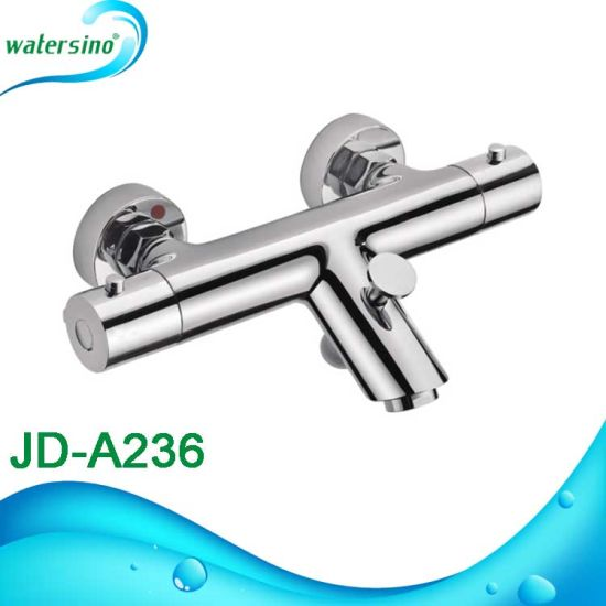 Bathroom Brass Sanitary Ware Factory Thermostat Bathtub Faucet pictures & photos