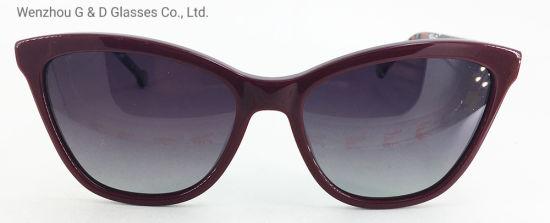 Hot Design Model China Factory Wholesale Acetate Frame Sunglasses