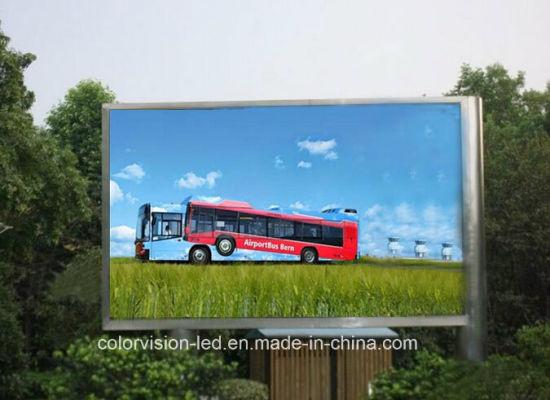 HD Full Color Waterproof P10 Outdoor Billboard LED Display 96X96cm Digital Advertising Panel