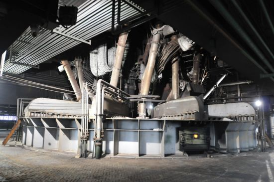 Eaf Refining Steel Melting Equipment Industrial Electric Arc Furnace