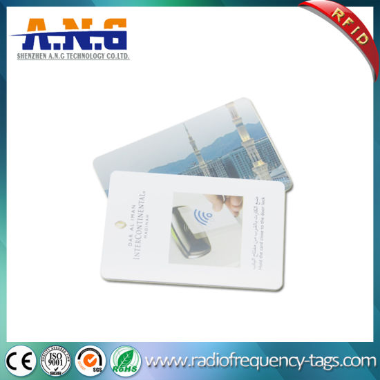 125kHz RFID Contactless Proximity Hotel ID Card for Access Control