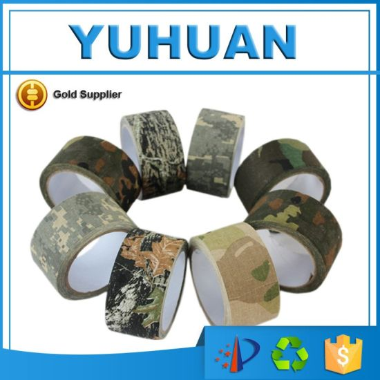 High Quality Outdoor Hunting Camouflage Fabric Tape Pictures Photos