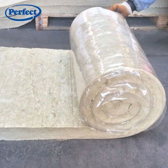 Roofing Insulation Materials 60kg/M3 Rock Wool Blanket