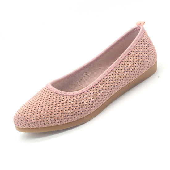 New Arrival Knit Shoes Ladies Casual Shoes with Softy