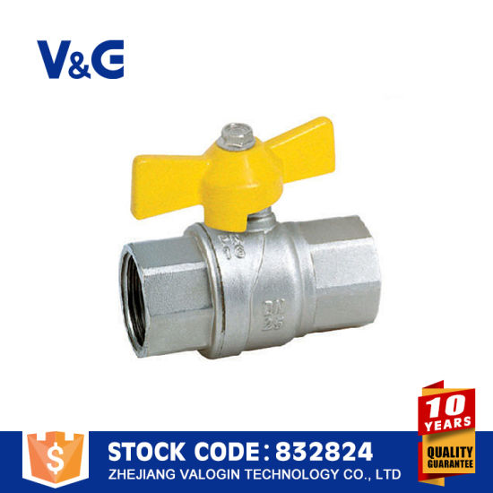 AGA&Inig Approved Brass Gas Valves (VG-A61031) pictures & photos