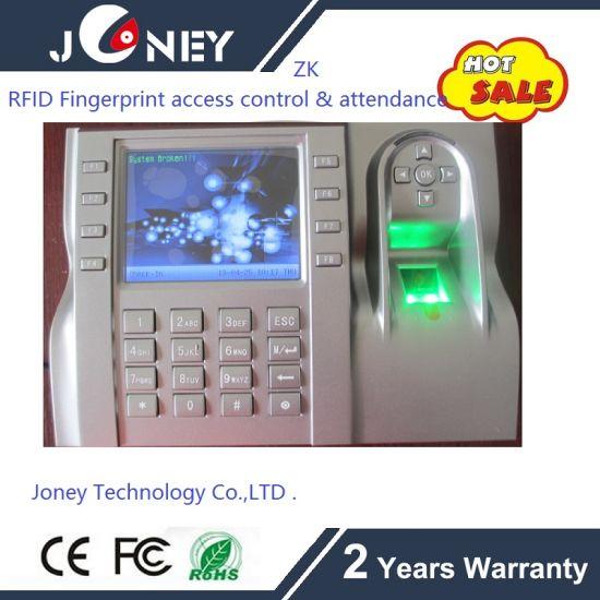 Zk Biometric Fingerprint Time Attendance with Recorder Printer  (JYF-iclock580)