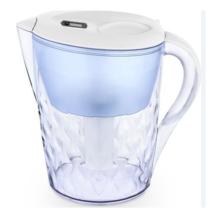 Household Drinking Water Pitcher with Carbon Filter