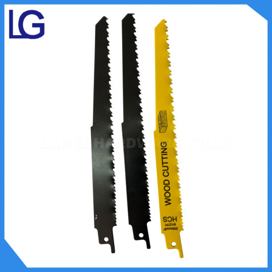High Carbon Steel Reciprocating Cutting Saw Blades for Wood