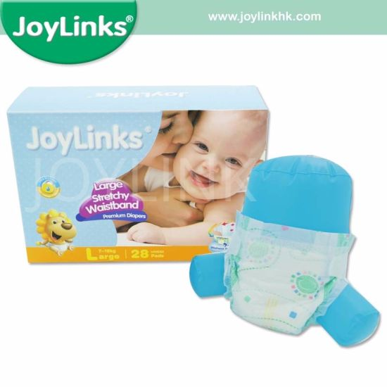 Disposable Baby Diaper with Color Printed Bag