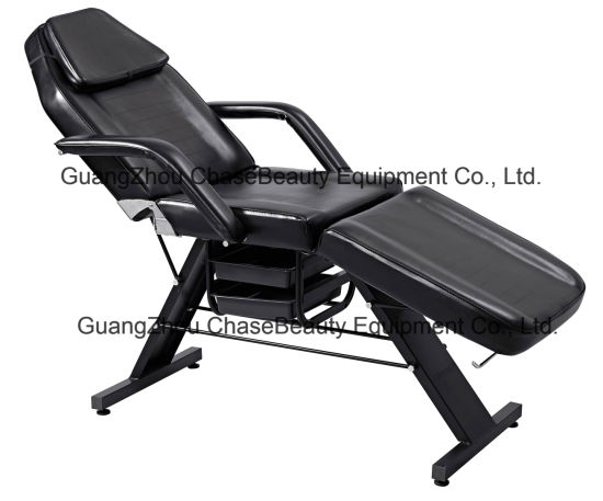 Facial Bed with Drawer Salon Furniture Massage Table for Selling pictures & photos