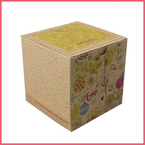 Custom Printed Recycled Brown Kraft Tuck Top Gift Box Kraft Box Brown Box Carton Box