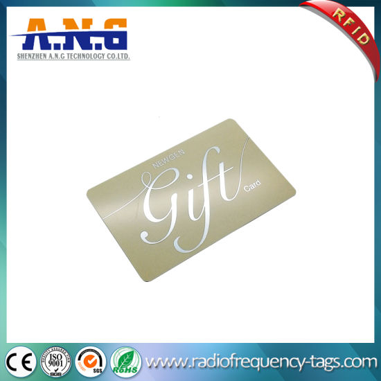 13.56MHz Cmyk Printing ISO14443A Plastic IC RFID Smart Card