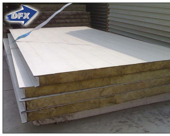 Composited Concrete Insulated Puf Sandwich Panel for Sale