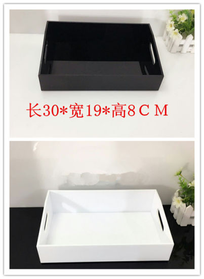 China Acrylic MakeupCosmetic Jewelry Organizer with Tray on The