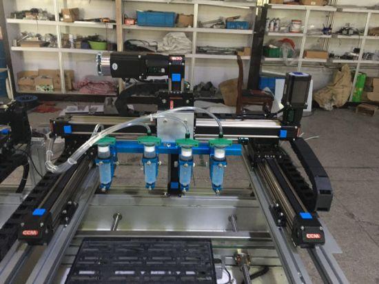 Glue Dispenser Machine Belt Drive Linear Guide Rail