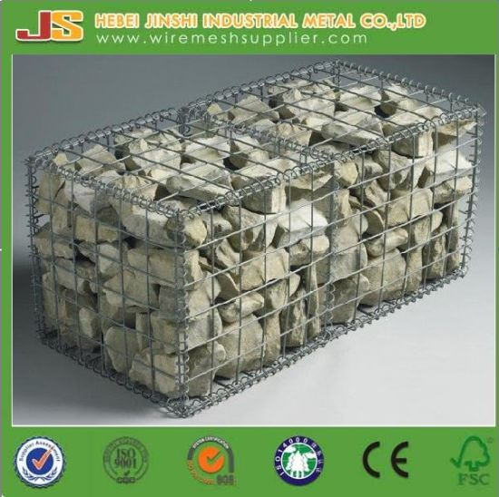 Low Price Galvanized Welded Gabion Basket with Ce Certificate