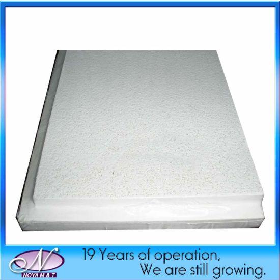 Cheap Acoustic Fiberglass Decorative Ceiling Panel for Sound Absorption