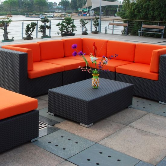 Peachy China Pe Rattan Sofa Bed Double Deck Bed Rattan Outdoor Caraccident5 Cool Chair Designs And Ideas Caraccident5Info