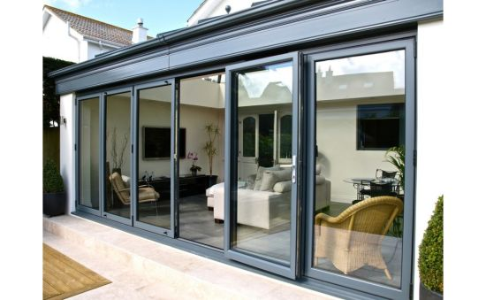 System Price and Exterior Metal Aluminum Design Sliding Glass Door pictures & photos