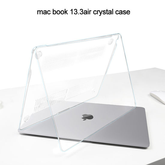 Crystal Transparent Laptop Sleeve Protective MacBook Case Cover for MacBook