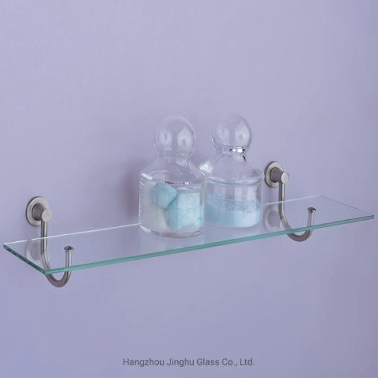 Chinese Manufacturer 8mm High-Quality Tempered Glass Shelf for Home Decoration