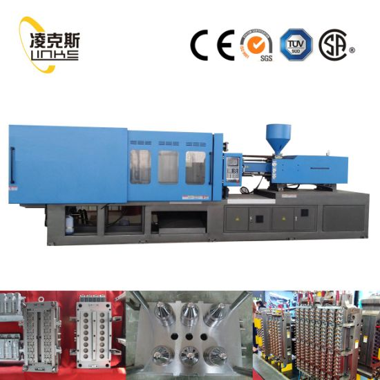 Plastic Water Bottle Preform Plastic Cap Injection Molding Machine pictures & photos