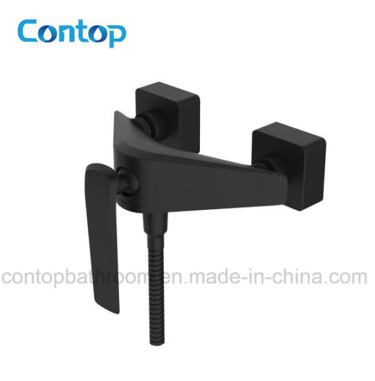 China Quality Bathroom Products Black and Chrome Finished Shower ...