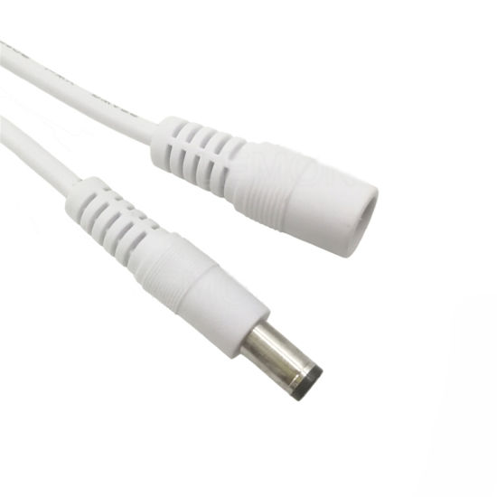 Male to Female DC Plug Extension Cord DC Power Adapter Extension Cable