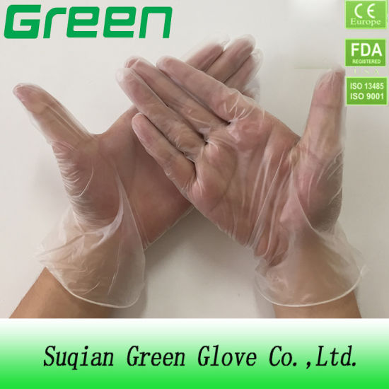 Disposable Vinyl PVC Examination Gloves (CE certificated)