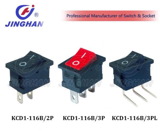 Kcd1-116b Universal Electric Rocker Switch