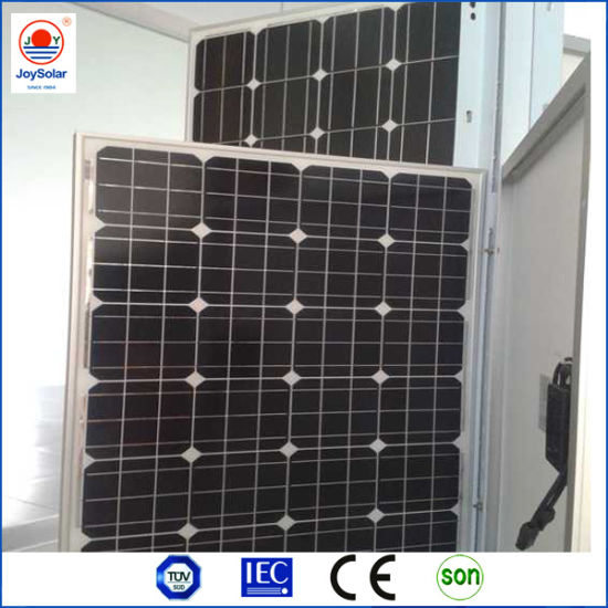 50W, 100W Mono Solar Panel with Efficient Solar Cell