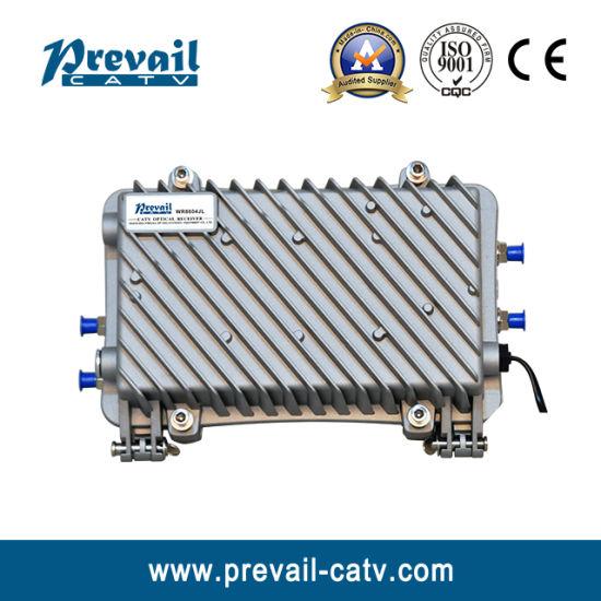 4 Outputs Bi-Directional Outdoor AGC Optical Node Optical Receiver Wr1004jl