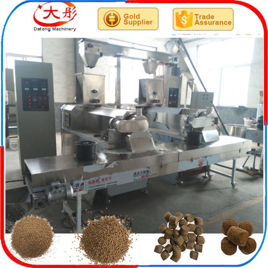 Fish Food Pellet Processing Plant pictures & photos