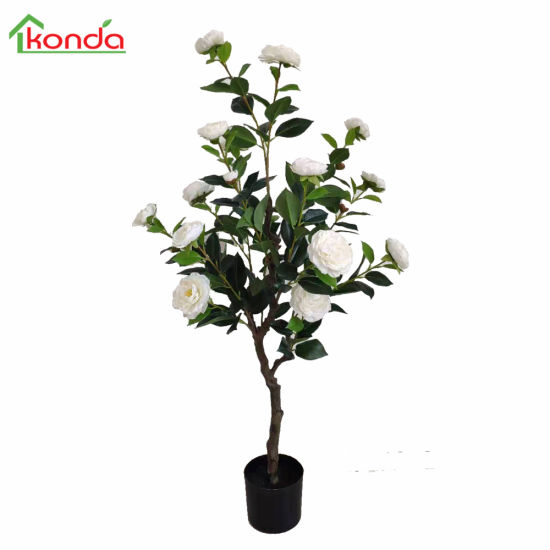 Natural Small Manufacturing Plant Pots Wholesale Artificial Flower Tree