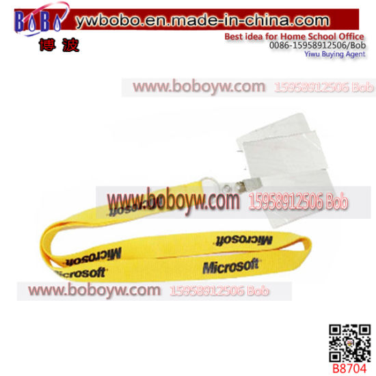 Christmas Gift Party Supply Webbing Custom Lanyard Services Cargo Purchase Agent (B8704)