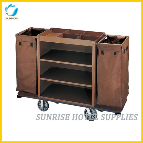 Hot Sale High Quality Hotel Luggage Trolley Housekeeping Cart