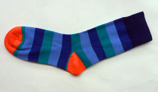 Men Women Cotton Plain Socks with Fashion Design pictures & photos